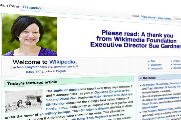 Habemus Wikipedia por un año más