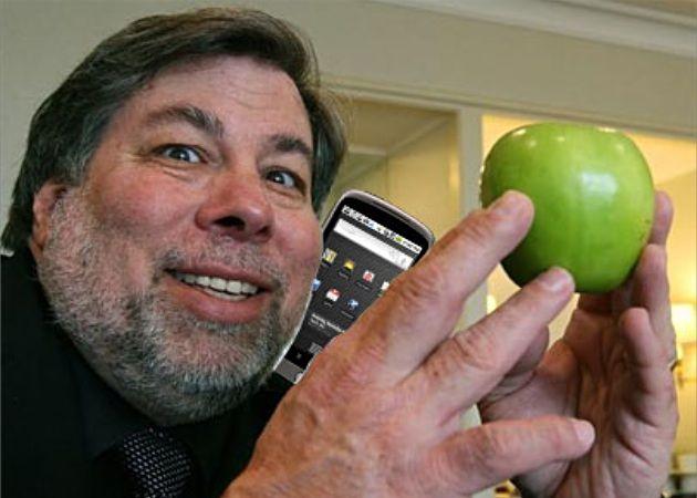 """Steve Wozniak: """"Deseo que (iPhone) hiciera todas las cosas que hace mi Android"""""""