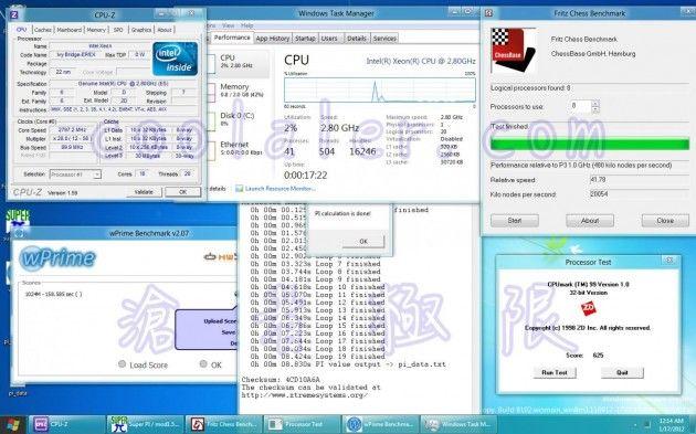 Primeras pruebas del procesador Intel Ivy Bridge-EP con 10 núcleos 27