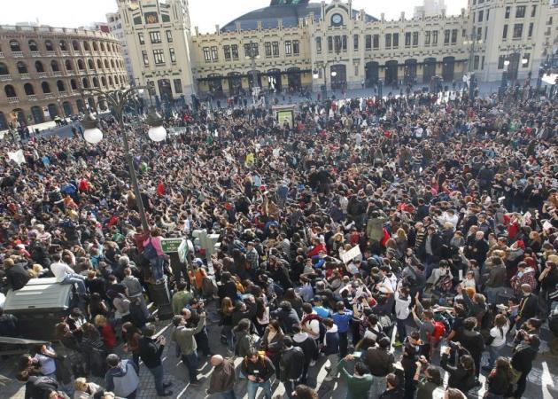 La #PrimaveraValenciana también arde en la Red