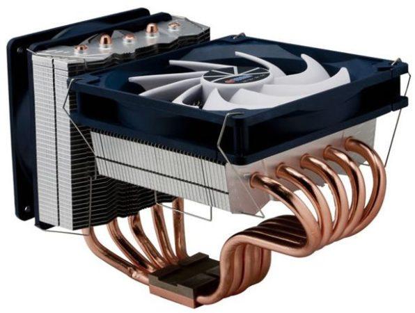 Interesante disipador de CPU multiplataforma Titan Sibera TTC-NC55TZ(RB)