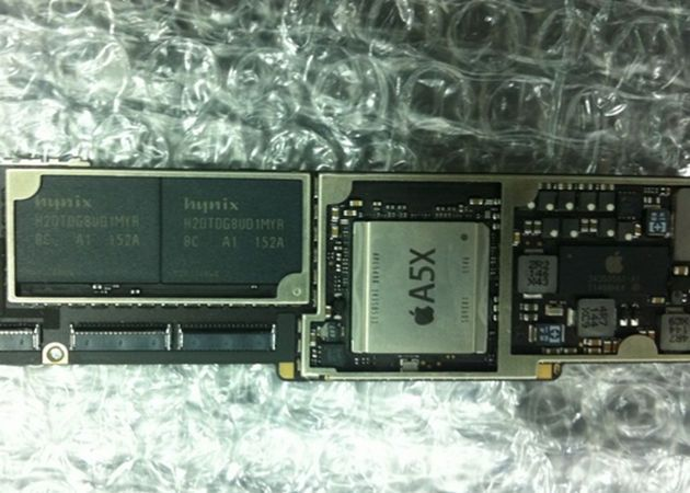 El motor del iPad 3 sería el chip A5X