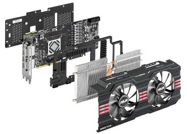 ASUS Radeon HD 7970, bestia gráfica de triple slot 28