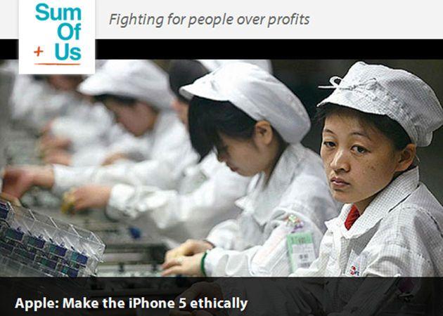 Trabajadores chinos reciben 8 dólares por cada iPad vendido