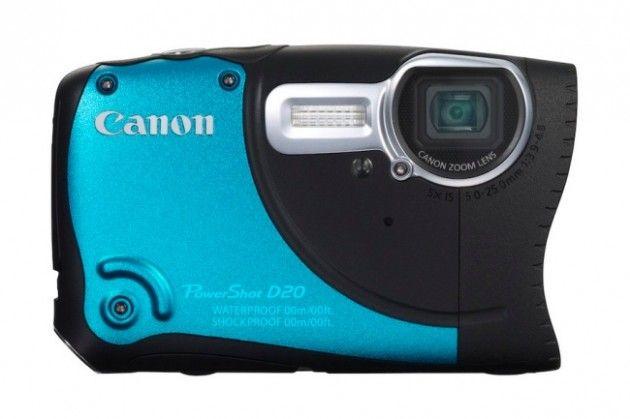 Canon D20 frente