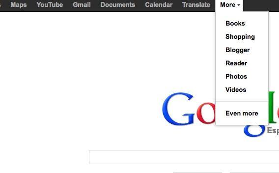 Prueba la futura barra de servicios Google ya en tu navegador