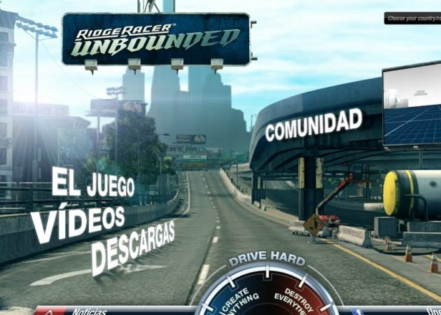 Ridge Racer Unbounded llegará el 30 de marzo