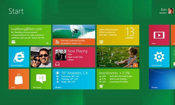 """Las aplicaciones preinstaladas en Windows 8 """"Consumer Preview"""""""