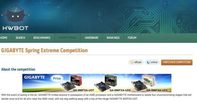 GIGABYTE lanza un concurso de overclock: Spring Extreme