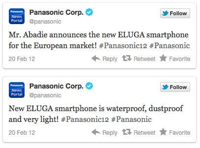 Panasonic ELUGA, smartphone Android resistente llega a Europa 31