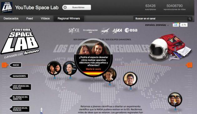 Dos españolas finalistas del YouTube Space Labs