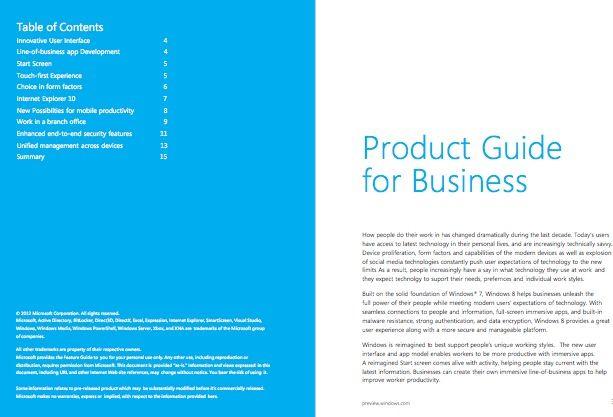 Echa un ojo a la guía de Windows 8 Consumer Preview antes de su lanzamiento