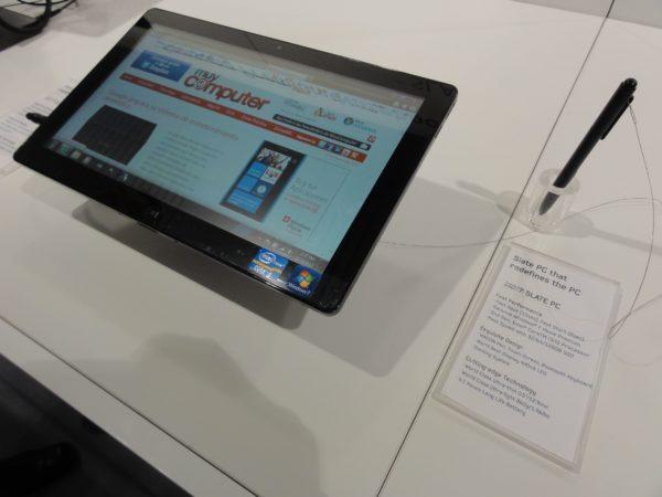 Slate PC Series 7, el tablet PC puro Core i5 de Samsung