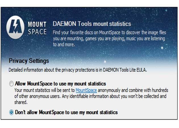 El emulador Daemon Tools espía al usuario sin su consentimiento 29