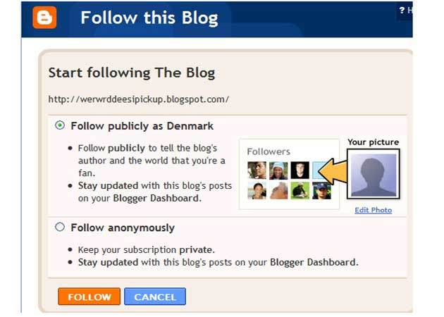 Google Blogger se une a Twitter con censura local 30
