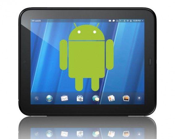 HP libera el código Android que había desarrollado para su tablet TouchPad