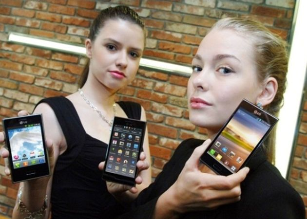LG anuncia otros tres smartphones Optimus: L3, L5 y L7