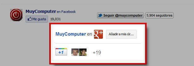 Sigue MuyComputer desde Google+ 31