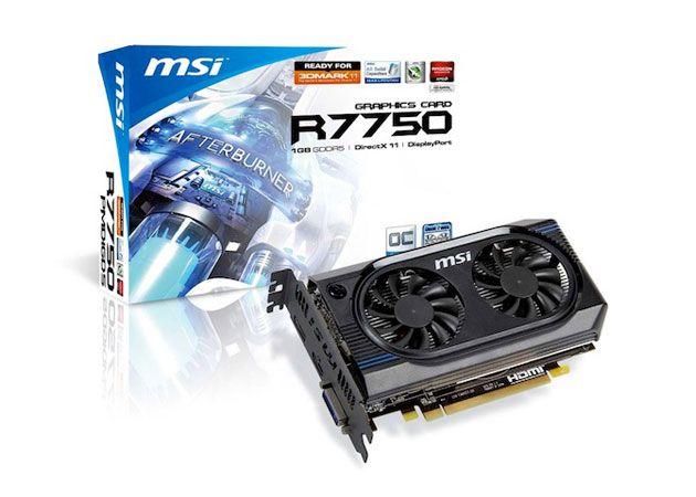 MSI R7770, con sistema de refrigeración mejorado