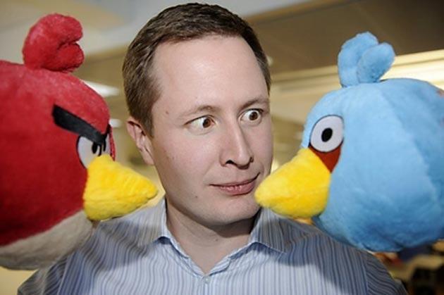 El CEO de Angry Birds piensa que se puede hacer negocio de la piratería