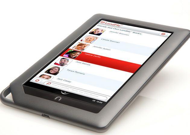 Barnes & Noble prepara un Nook Tablet de 8 Gbytes