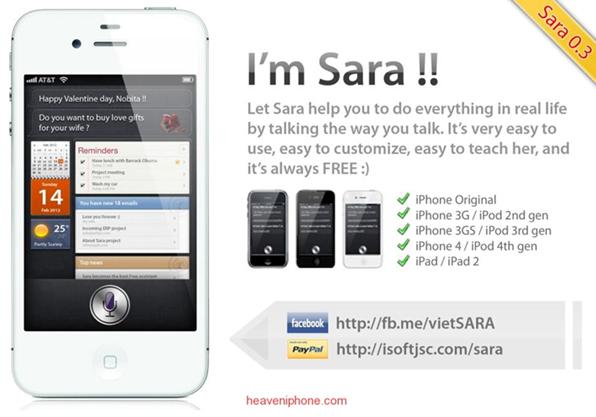 Sara Dictation, software para dictar y transcribir texto a tu iPhone en 39 idiomas