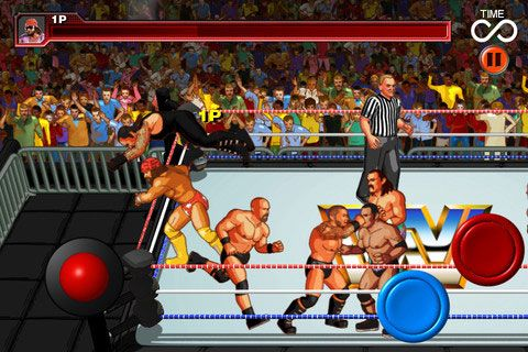WWE Wrestlefest, el arcade clásico revive en iPhone y iPad