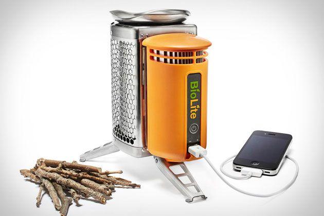 BioLite CampStove, la estufa portátil que carga tus gadgets