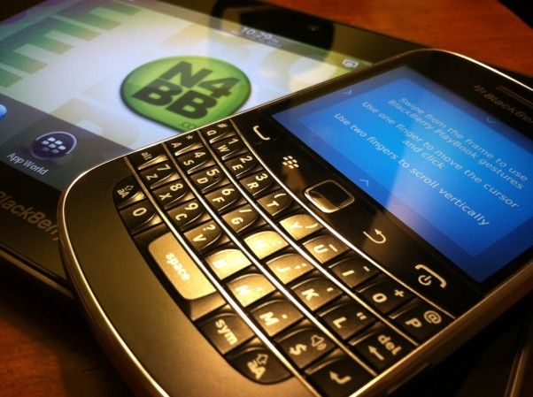Blackberry remote app