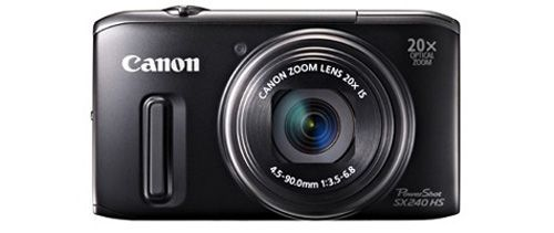 Canon PowerShot SX240 HS, nueva compacta con zoom 20X
