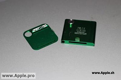 iPod nano 7G listo para marzo-abril con cámara de 1,3 Mpx