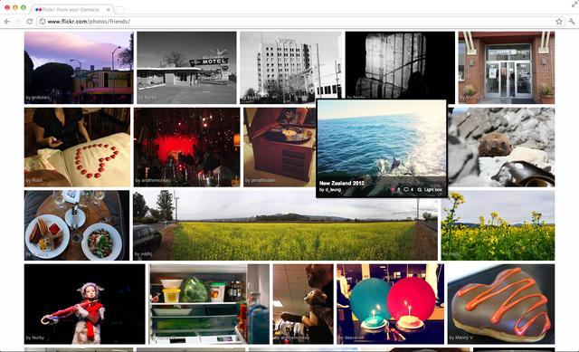 Flickr prepara su nuevo look