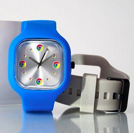 El reloj oficial de Google Chrome, disponible