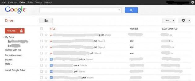 ¿Google Drive, el DropBox de Google, descubierto? 31