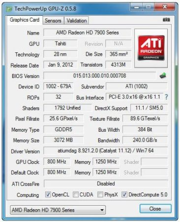 Análisis AMD Radeon HD 7950 33