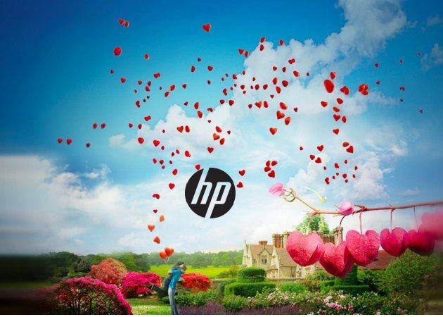Las propuestas de San Valentín de HP