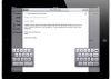 El teclado separado de iPad en iOS 5 tiene 6 teclas invisibles y funcionales