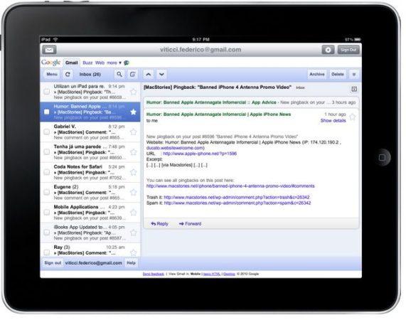 El uso de servicios webmail cae en favor de clientes nativos