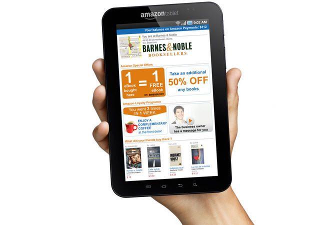 Amazon prepara un tablet Kindle Fire de 9 pulgadas 32