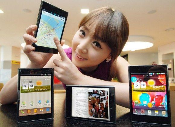 LG Optimus Vu, otro smartphone de gran formato llega a escena