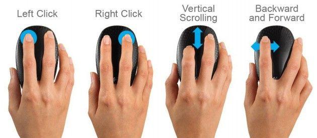 Logitech Touch Mouse M600 30