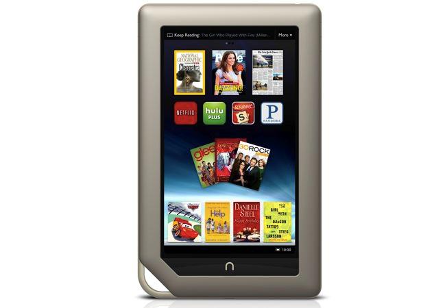 Nook Tablet 8 GB a 199 dólares, la competencia al Kindle Fire 29