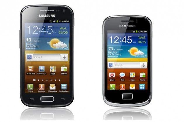 Samsung mostrará Galaxy Ace 2 y Mini 2 en MWC 2012