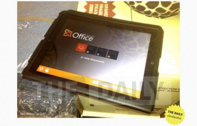 Office para iPad podría ser anunciado en el lanzamiento de iPad 3