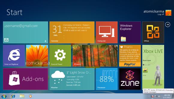 Ya puedes probar la interfaz Metro en Windows 7 con Omnimo 32