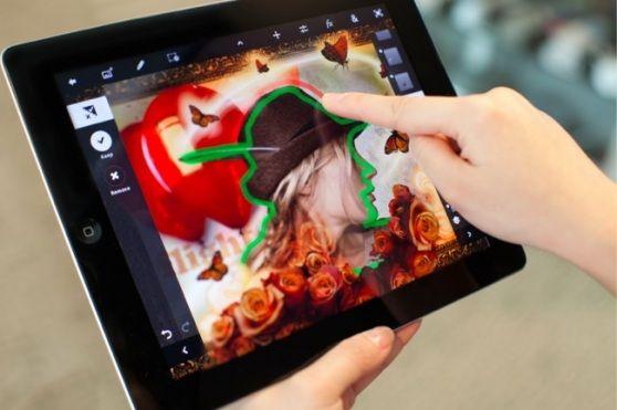 Photoshop Touch llega a iPad 2, herramienta indispensable