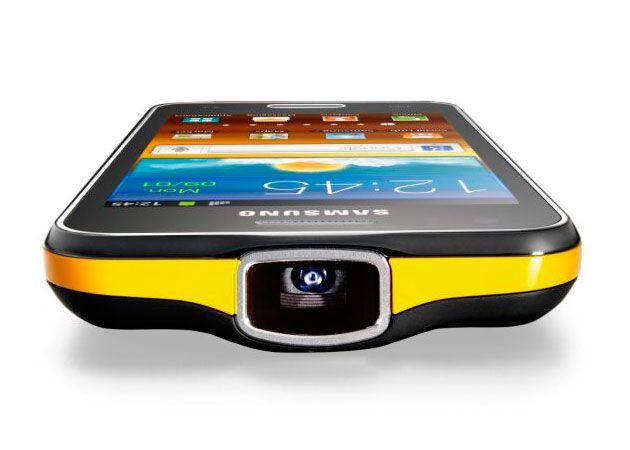 Samsung GALAXY Beam, smartphone + microproyector