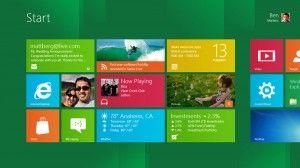Interfaz Metro en Windows 8