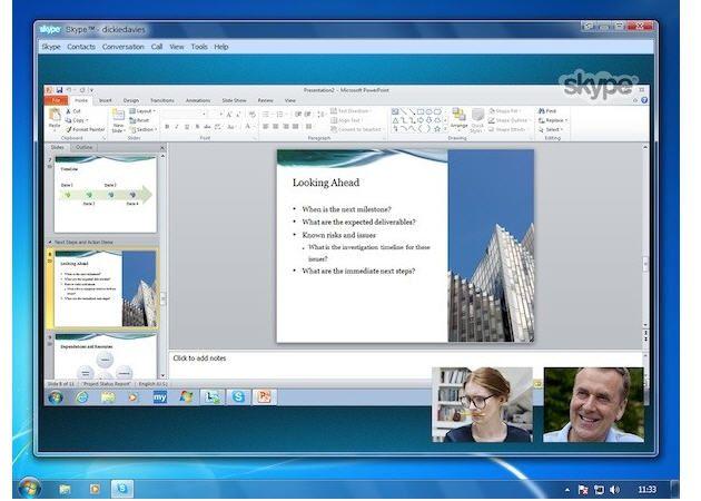 Skype 5.8 llega con videoconferencias HD