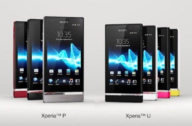 Sony Xperia P y Sony Xperia U, Android y Sony para todos